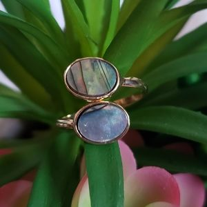 *SOLD* Hand-Crafted Aubrey Abalone Shell Ring